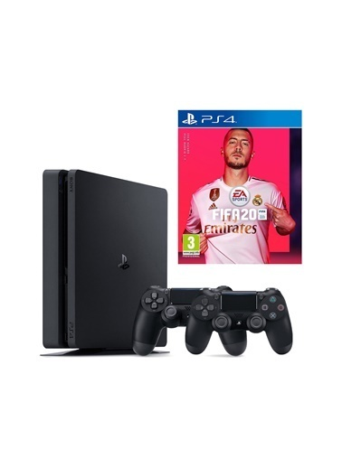 Sony Ps4 Slim 500 GB Oyun Konsolu + 2. Kol Fifa 2020 Renkli